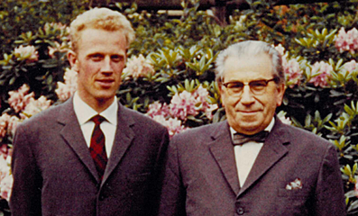 Per Bruus-Jensen and Martinus 1961