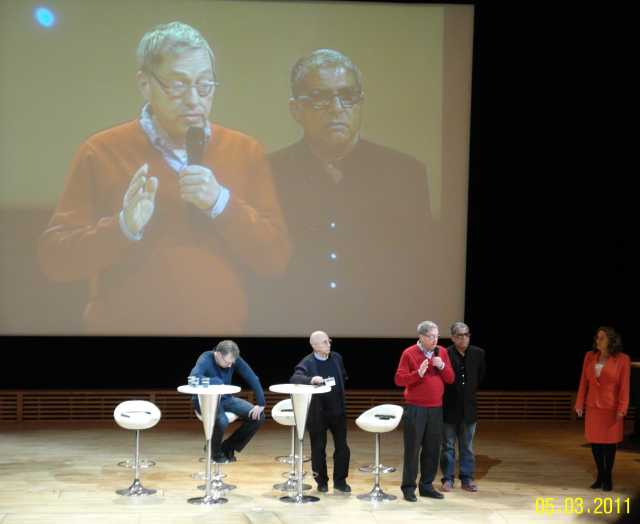 Lothar Schaefer, Deepak Chopra TSC 2011 NCP X-AIONS