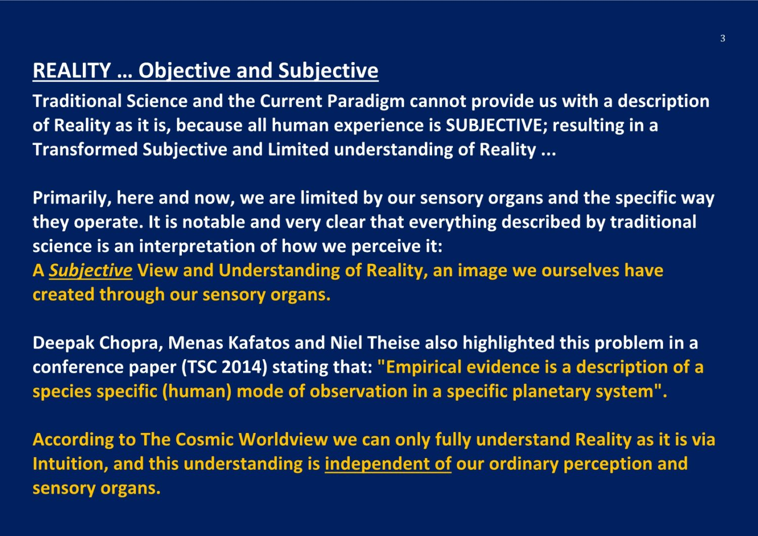 Objective and Subjective Reality Ontology NCP X-AIONS