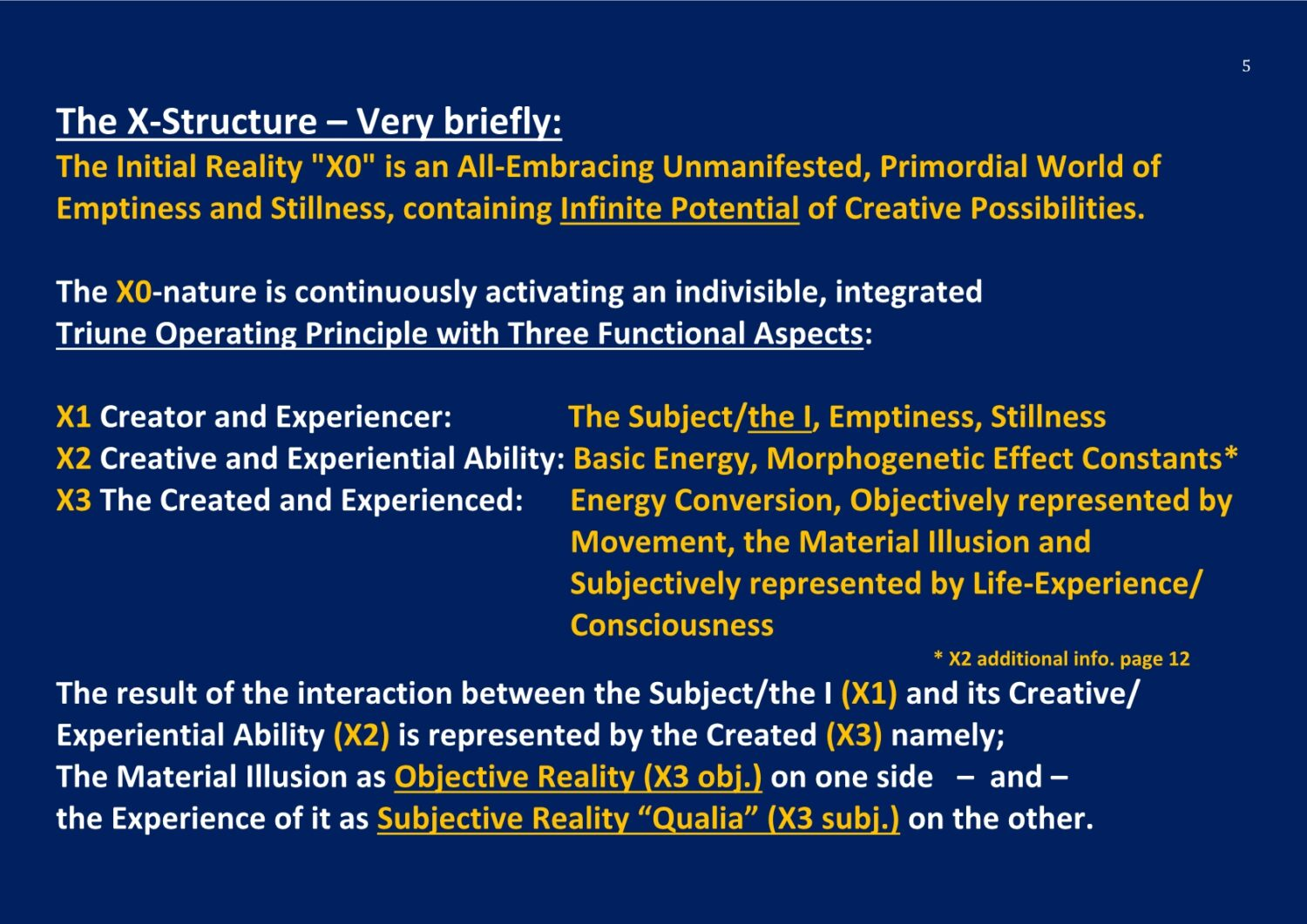 The X-Structure the Basic Nature of Life and Reality NCP X-AIONS TSC 2016The Hard Problem of Consciousness and Science NCP X-AIONS TSC 2016