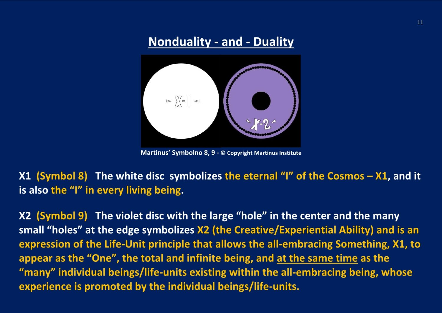 Nonduality and Duality X-Structure NCP X-AIONS TSC 2016