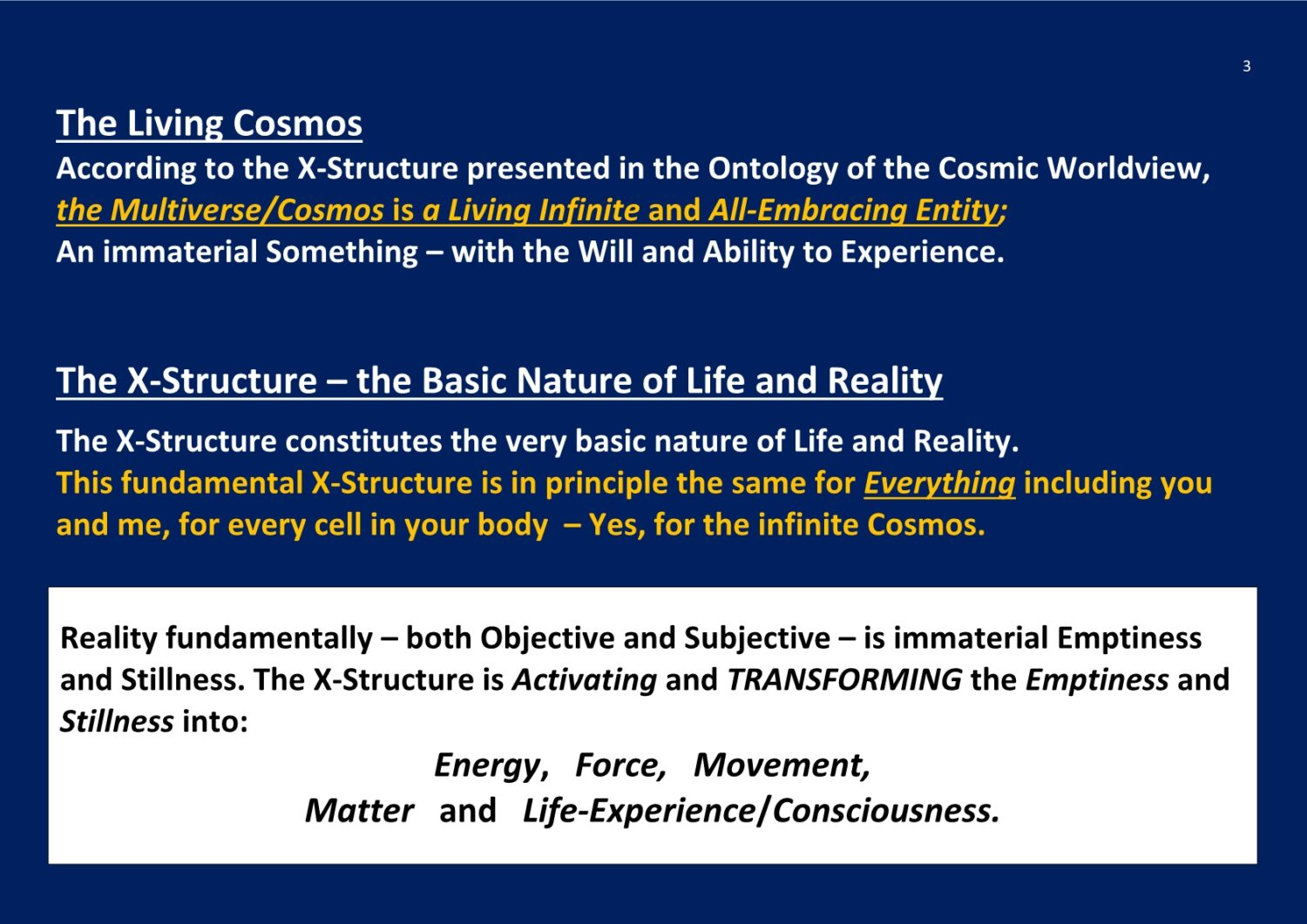 X-Structure Ontology Of Consiousness NCP X-AIONS