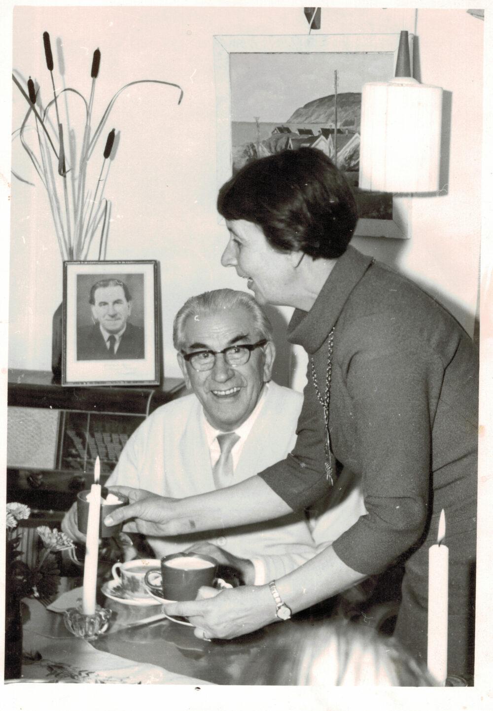 Martinus and Sigbritt Therner