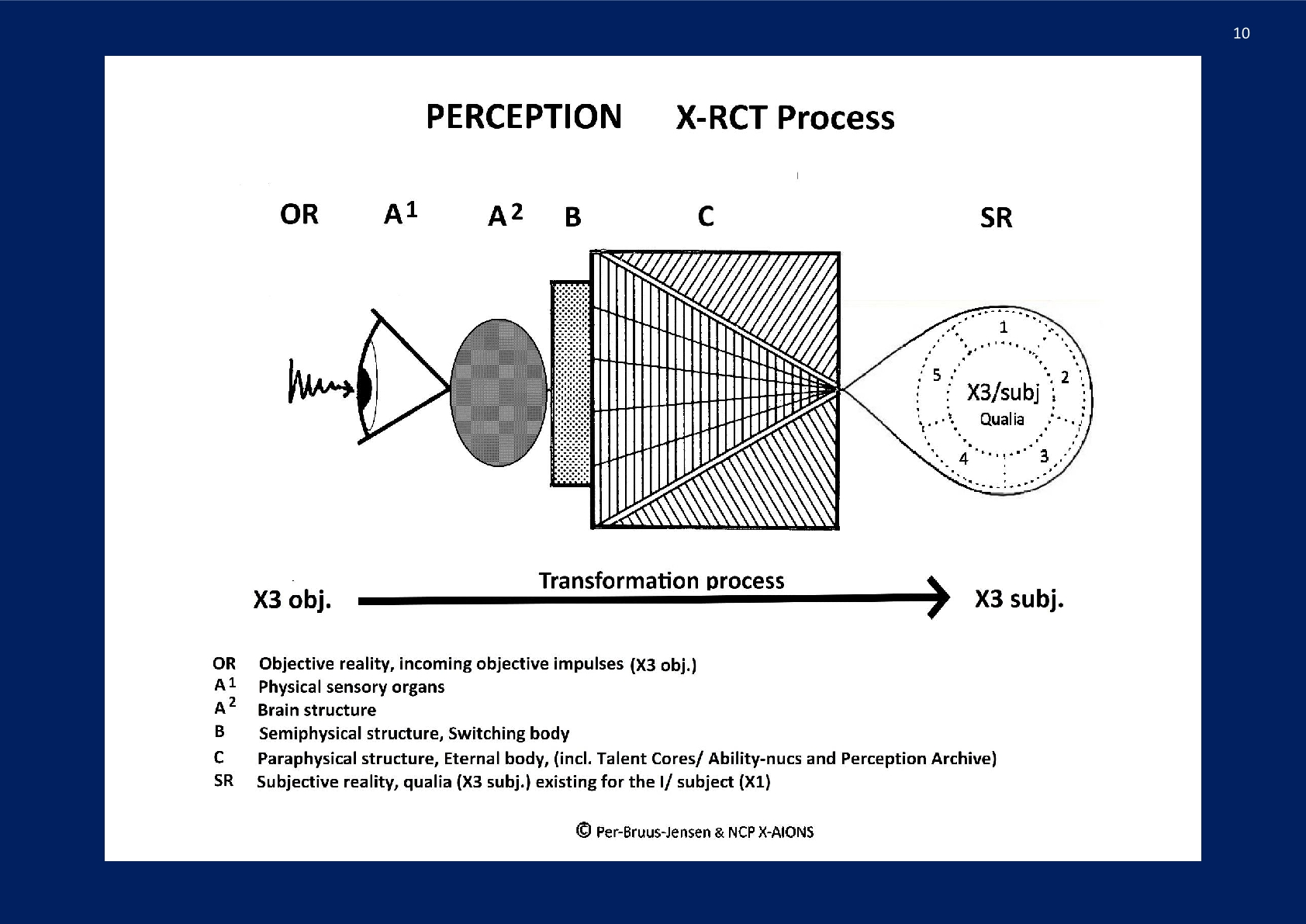 Perception, The X-RCT Process; NCP X-AIONS
