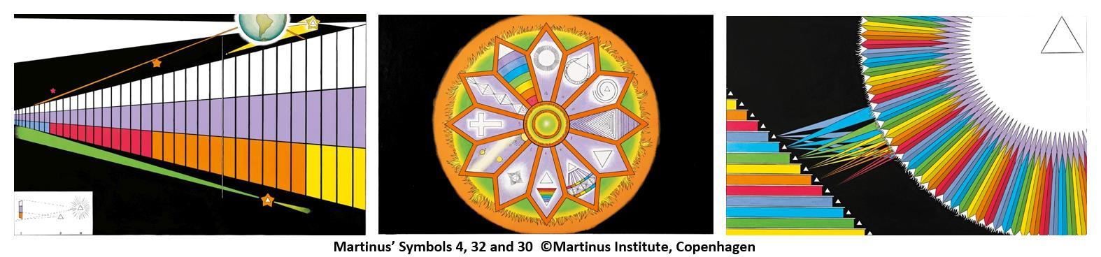 Martinus symboler 8, 32, 30 © Martinus Institut DK